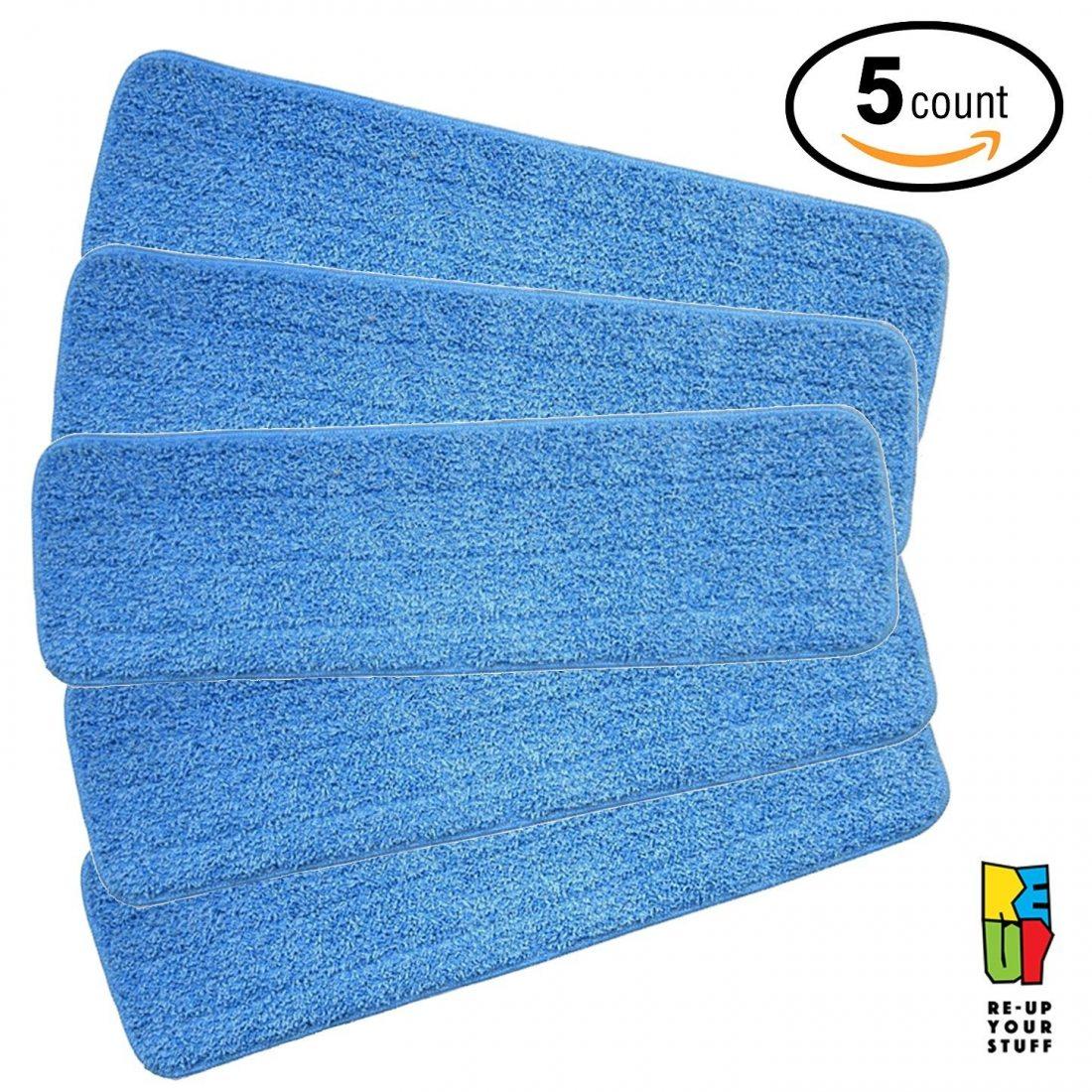 Re-Up microfibre de pulvérisation de balai avec tête de rechange humides / secs compatibles Avec système de soins Bona Floor