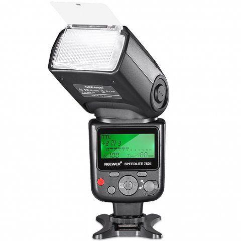 Neewer 750II TTL Flash Speedlite avec LCD Afficahge pour Nikon D7200 D7100 D7000 D5500 D5300 D5200 D5100 D5000 D3300 D3200 D3