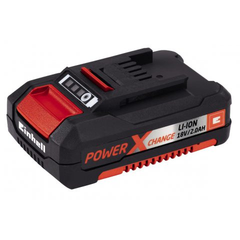 Einhell Batterie du système Power X-Change (Li-Ion, 18 V, 2,0 Ah compatible avec toutes les machines Power X-Change.)