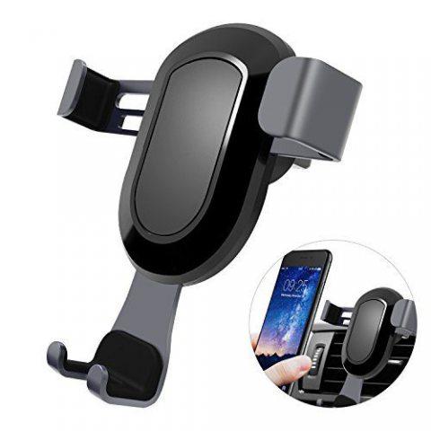 Yiiyaa Cell support de téléphone pour voiture universel Gravity Grille d'aération de voiture support de fixation pour iPhone