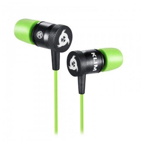 KLIM Fusion Écouteurs Haute Qualité Audio - Durable + Garantie 5 Ans - Innovant : Ecouteurs Intra-Auriculaire Mousse à Mémoir