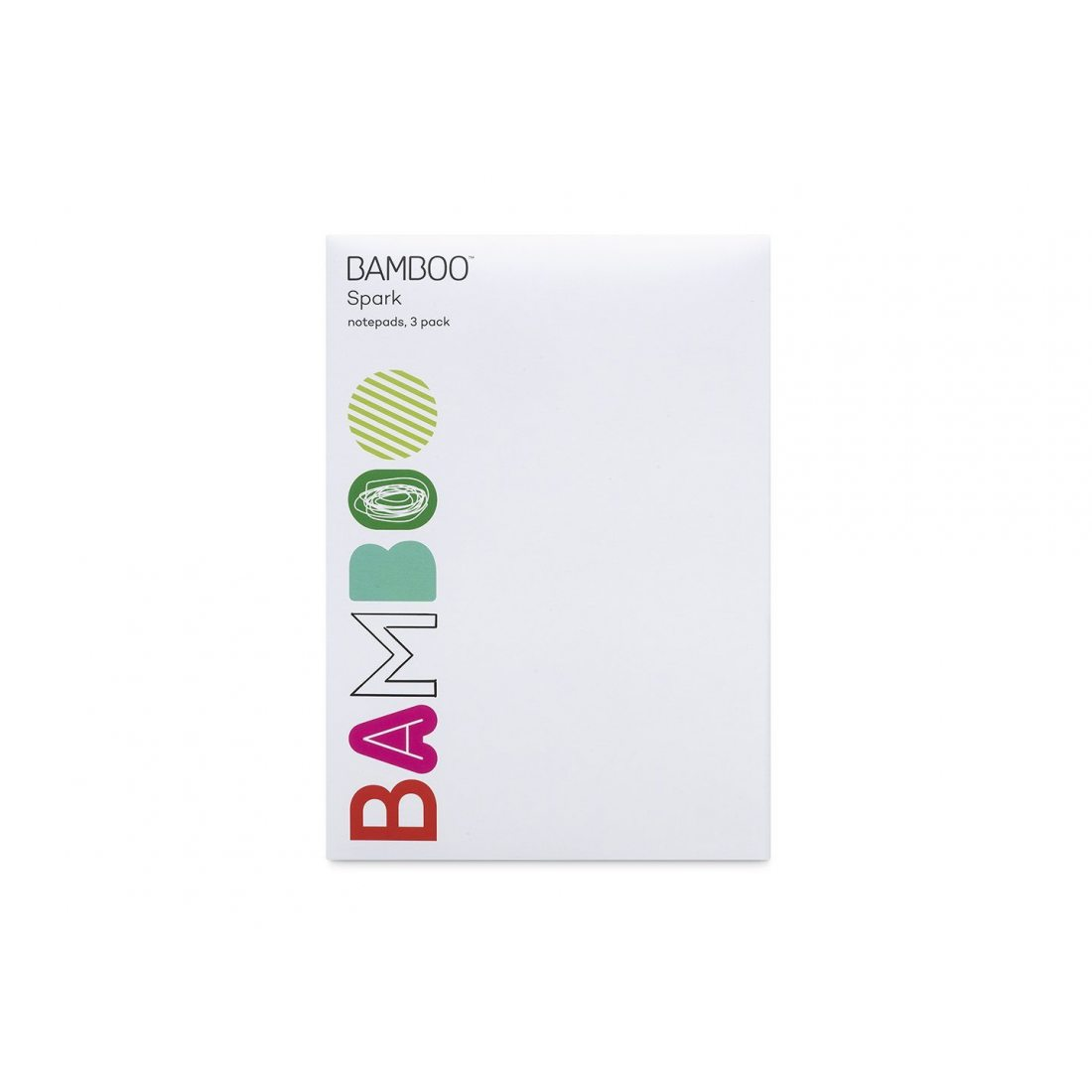 Wacom ACK41508 Bloc-notes pour Bamboo Spark 3 Blanc