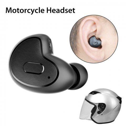 Avantree [Upgrade Version] Mini écouteur Bluetooth pour Podcasts, Livres Audio, GPS, Port Invisible Ergonomique Ecouteur Intr