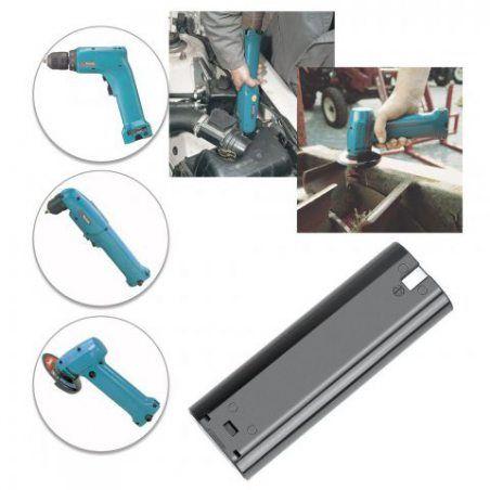 REEXBON Makita 7000 Batterie 7.2V 2.1Ah NIMH Remplacement Batterie pour Makita 7000, 7002, 7033, 191679-9, 192532-2, 192695-4