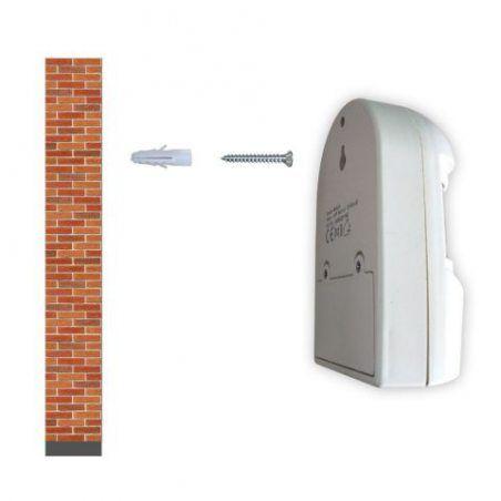 4Vwin Système de sécurité à domicile sans fil Alerte 1récepteur et 3Détecteurs de mouvement PIR Kit de système d'alerte in