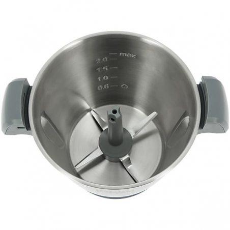COMPACT COOK + Grand panier vapeur + Découpe légumes-Robot De Cusine Multifonction