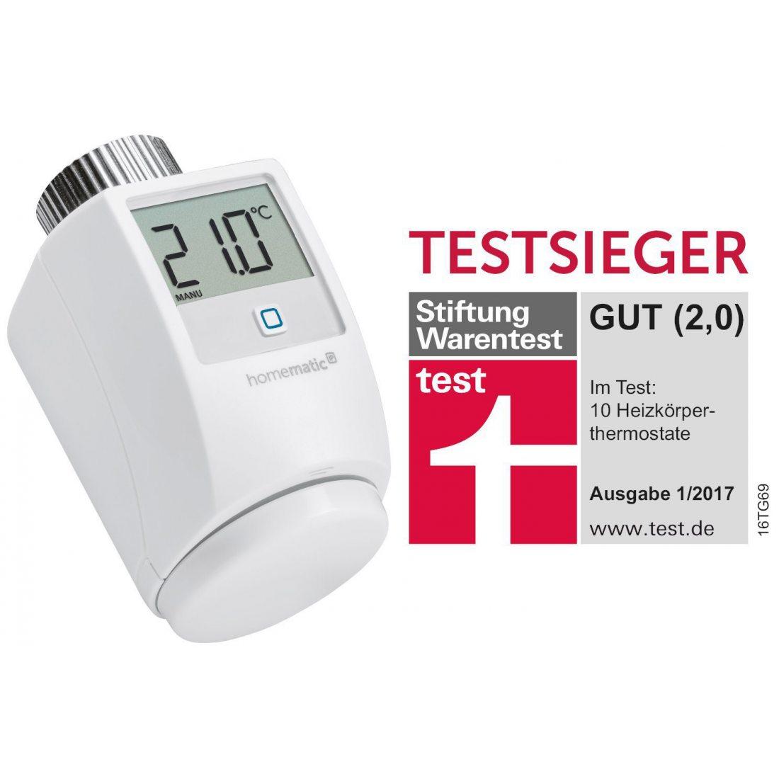 HomeMatic IP Radiateur Thermostat