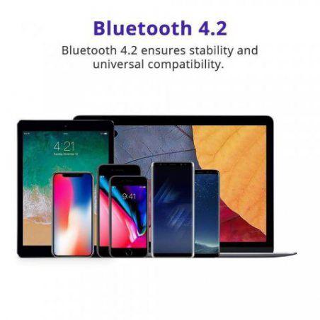 Enceinte Bluetooth Portable Haut-Parleur Sans Fil, Tronsmart Pixie Speaker Wiresless 15W, 15 Heures d'Autonomie en Lecture, T