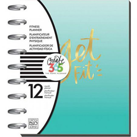 "Me & My Big Ideas Create 365 12-Month Planner 7.25""X9.75""-Get Fit"