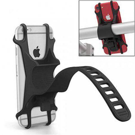 Topgadgetsuk Plat Bracelet en Caoutchouc Support vélo pour téléphone Portable pour Guidon de vélo iPhone 8iPhone X Samsung S