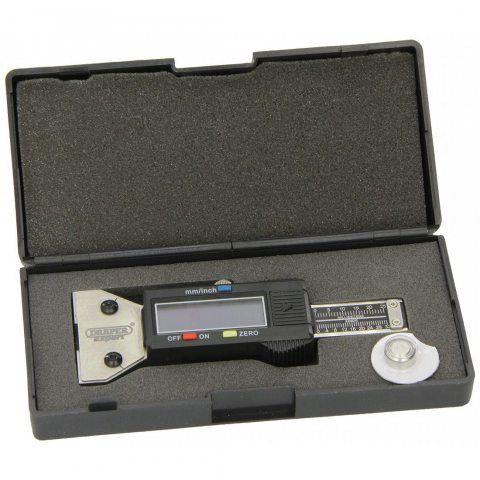 Draper Expert 39591 Jauge de profondeur numérique pour pneu Acier inoxydable (Import Grande Bretagne)