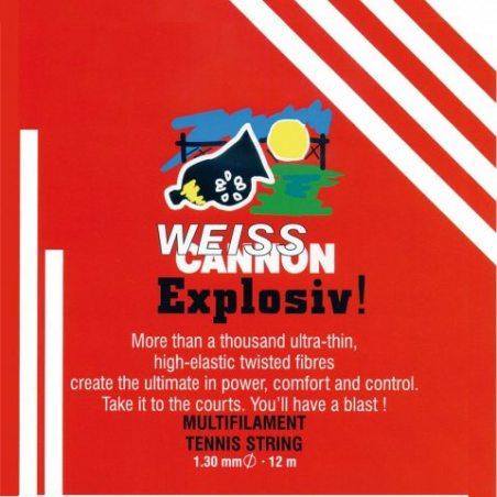 Weiss cannon saitenset explosif, naturel, 12, 0545140122400016 m