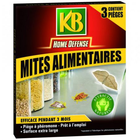 KB 9560 Pieges Mites Alimentaires x3
