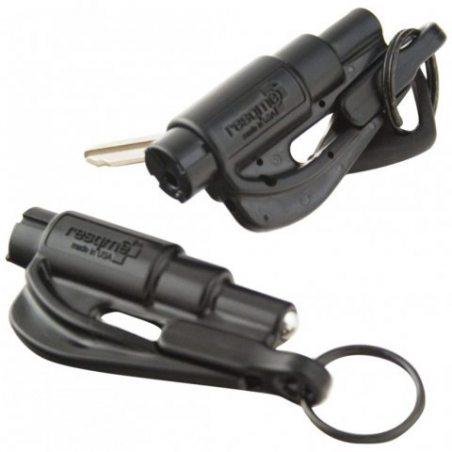 Resqme GBO-RQM-BLACK Porte-Clés Sécurité, Noir, Lot de 1