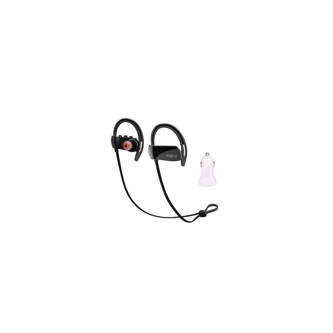 Casque Bluetooth, Toseto T1 sans fil étanche Sport