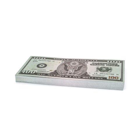 100 x $100 DOLLAR Cashbricks® billets d'argent fictif