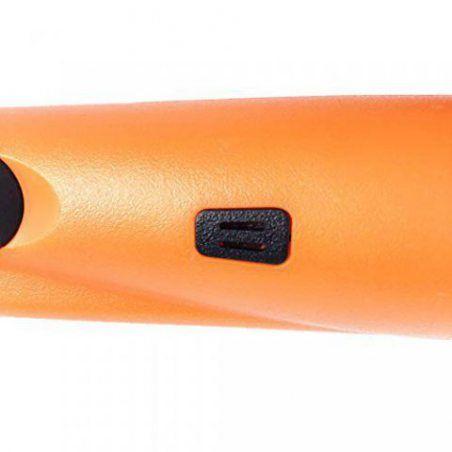 Détecteur de Métaux Portable Gold Hunter GP-POINTER Orange Gold Finder Hand Held avec lumière LED pour les utilisations Low L