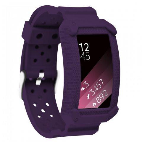 Greatfine Replacement Band Montre Strap de Rechange Bracelet pour Samsung Gear Fit 2 Fit2 R360 Smartwatch Tracker d'activité