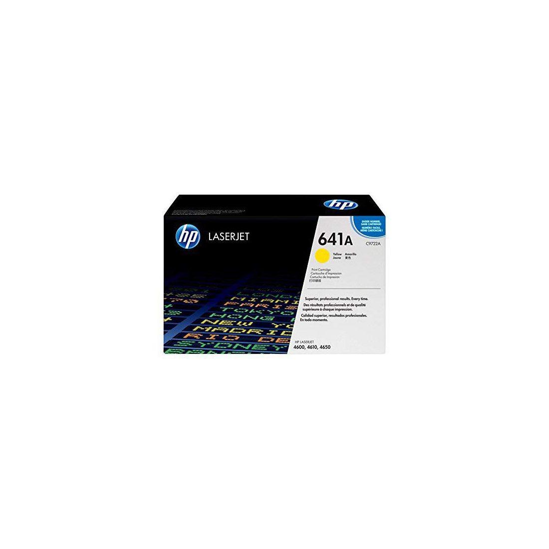 HP C9722A Cartouche de toner Jaune