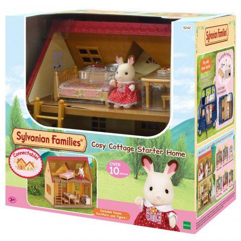 Sylvanian Families - 5242 - Maison de Poupées Set de Cottage Cozy