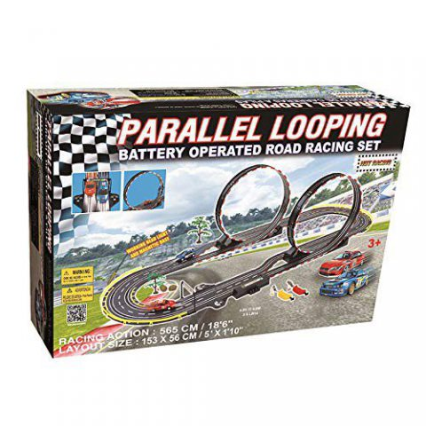 GB - Circuit Electrique Double Loopings Parallèles.