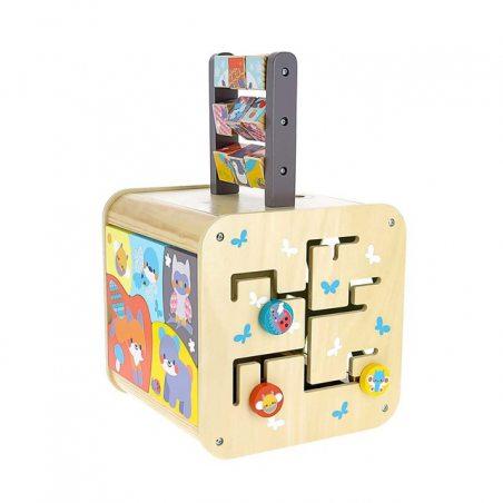Cube d'activités Galopins des bois