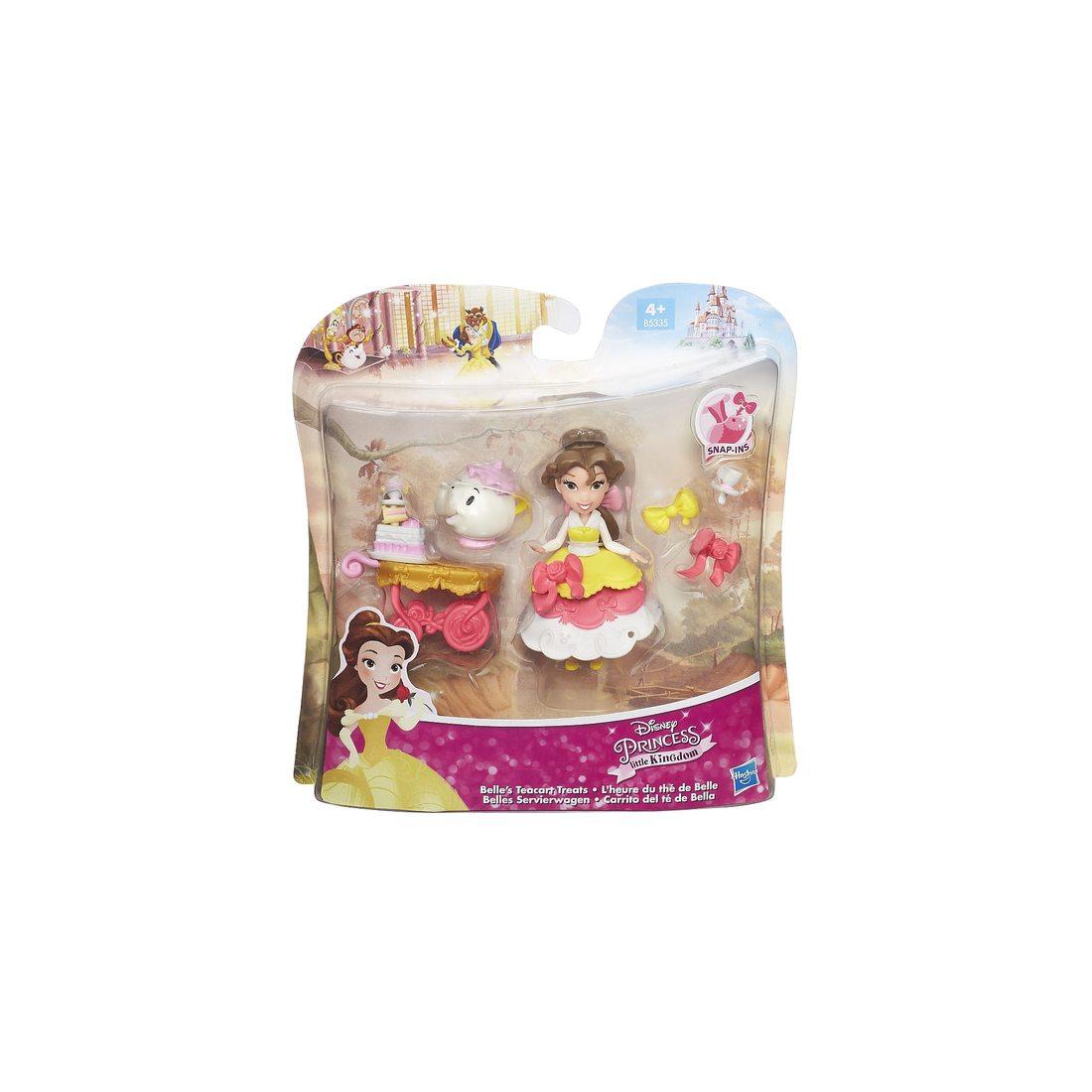 Coffret Mini poupées Disney Princesses-la belle et la bête- Little Kingdom