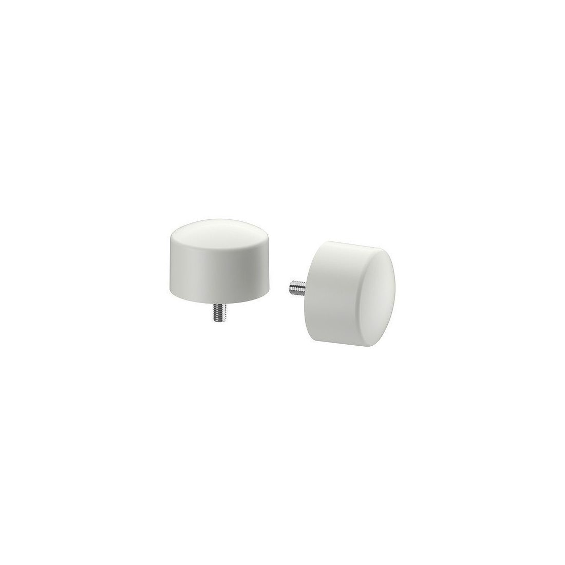 IKEA RAFFIG - Embout, blanc paquet / 2