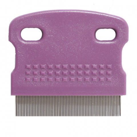 ROSEWOOD (Soft Protection) Salon Mini Flea Comb