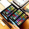 36 aquarelle Portable solide avec pinceau  eau stylo professionnel aquarelle voyage Set aquarelle p