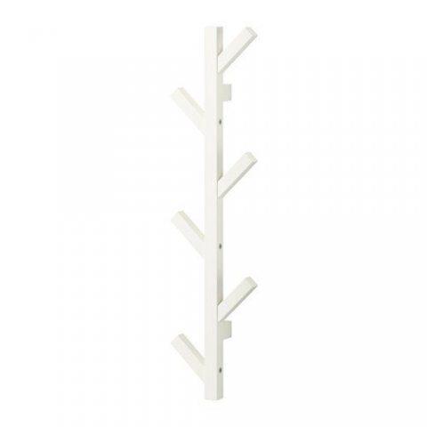 IKEA TJUSIG Patère, blanc