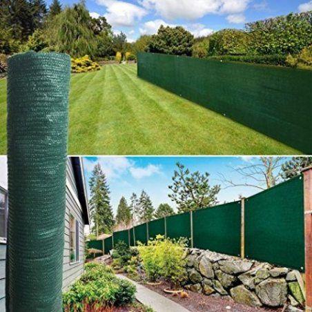 ProBache - Brise vue vert 1 x 10 m 90 gr/m² classique