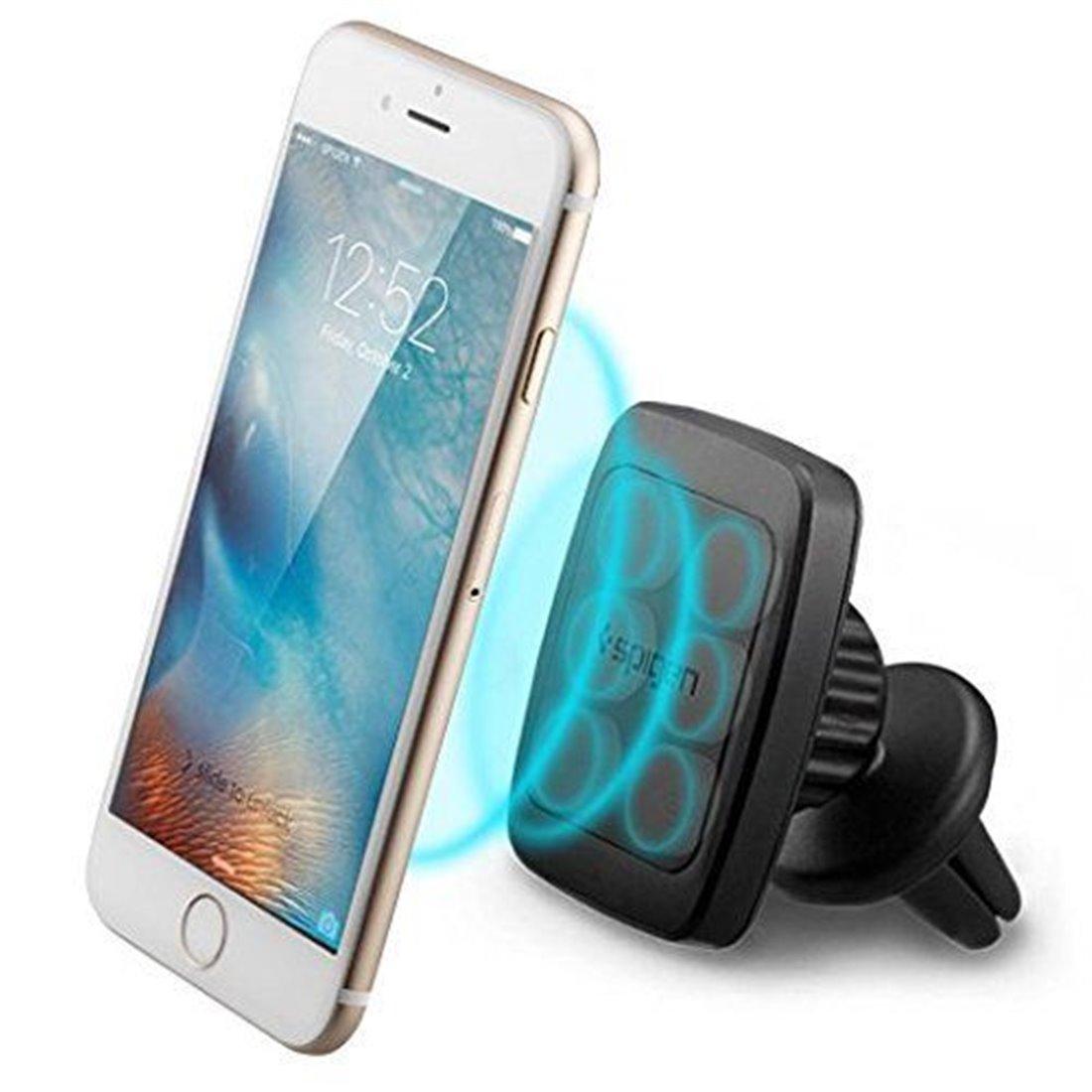 support t l phone voiture spigen prime air vent magn tique hexa n odyme core 360 degr s. Black Bedroom Furniture Sets. Home Design Ideas