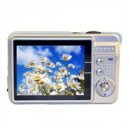 Mini Camera Stoga C3 2.7 pouces TFT LCD HD appareil photo numérique - argent