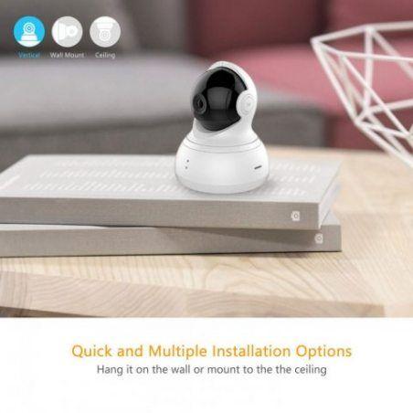YI HD 720P Dôme Caméra de Surveillance-IP Caméra Cloud Wifi Sans Fil PTZ Pan / Tilt / Zoom Surveillance de Sécurité Intérieur