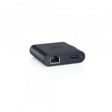 Dell DA100 Station d'accueil USB 3.0 pour Ordinateur portable Noir