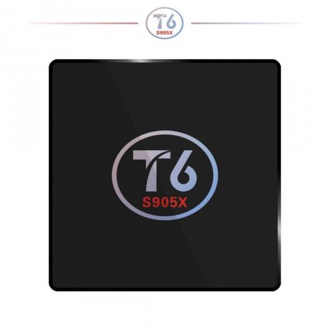 T6 TV Box S905X Andrews 7.1 Système TV BOX 2 + 16