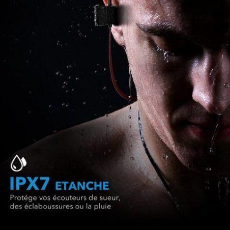 Mpow Ecouteur Bleutooth IPX7 Casque Sport Intra Auriculaire Oreillette Bluetooth Écouteurs Bluetooth Casque Bluetooth Etanche