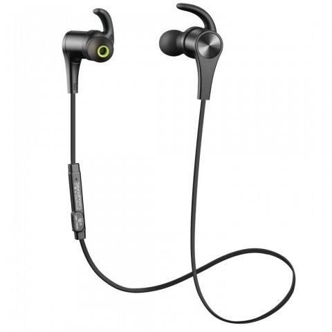 (Version Adaptée) SoundPEATS Écouteurs Magnétiques Sport Bluetooth 4.1, Oreillettes Stéréo Intra-auriculaires sans Fil avec M