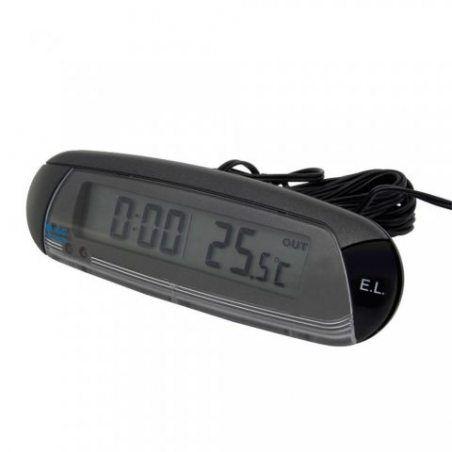 Carpoint 1110006 Thermomètre Intérieur/Extérieur avec Compteur et Alerte Antigel