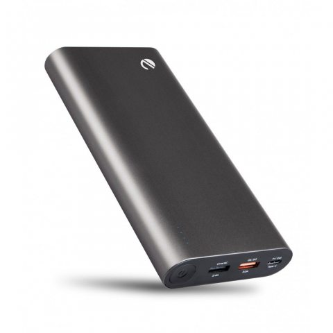eeco Batterie Externe 20800mAh Quick Charge 3.0 USB- C 3 Ports Portable Power Bank Charge Secours Recharge Rapide pour Samsun