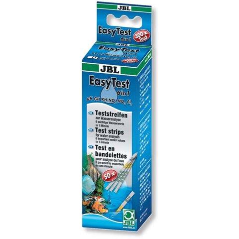 JBL bandelettes de Test 6 en 1 easytest pour aquarium