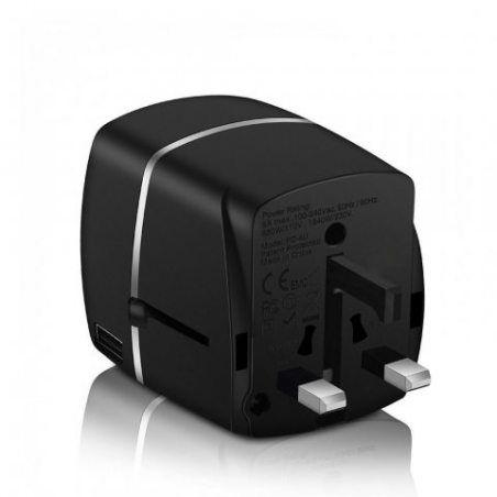 Adaptateur Voyage MILOOL® avec 4 USB Adaptateur Chargeur International pour UK / EU / US / AUS Universel Chargeur de Voyage t