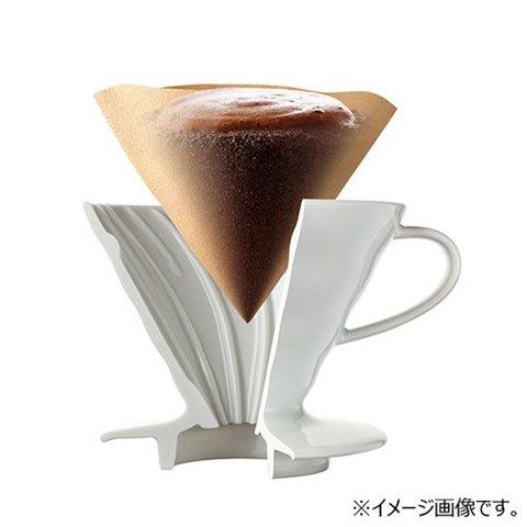 Hario Coffee Dripper conique V60 VDC-02 Blanc 4 tasses