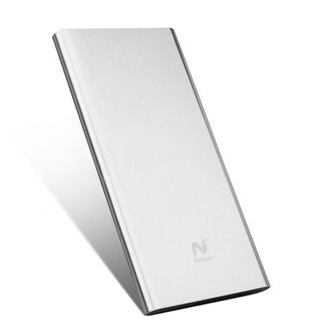 Keluoer Port Ultra Slim Power Bank Dual USB mobile batterie externe pour iPhone iPad, Samsung Galaxy, Kindle,Smartphones port
