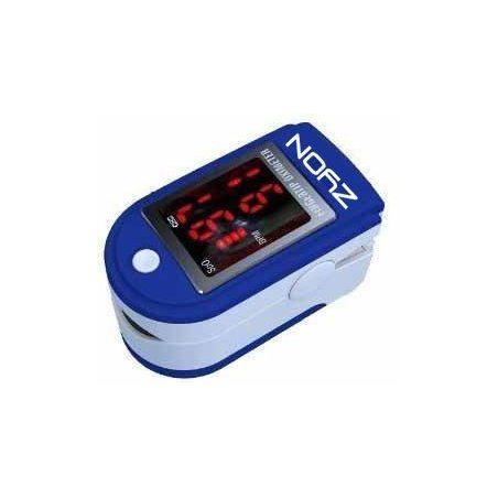 doigt oxymètre SPO2 de pouls & Moniteur de fréquence cardiaque avec des instructions, cordon et étui de transport - ecran LED