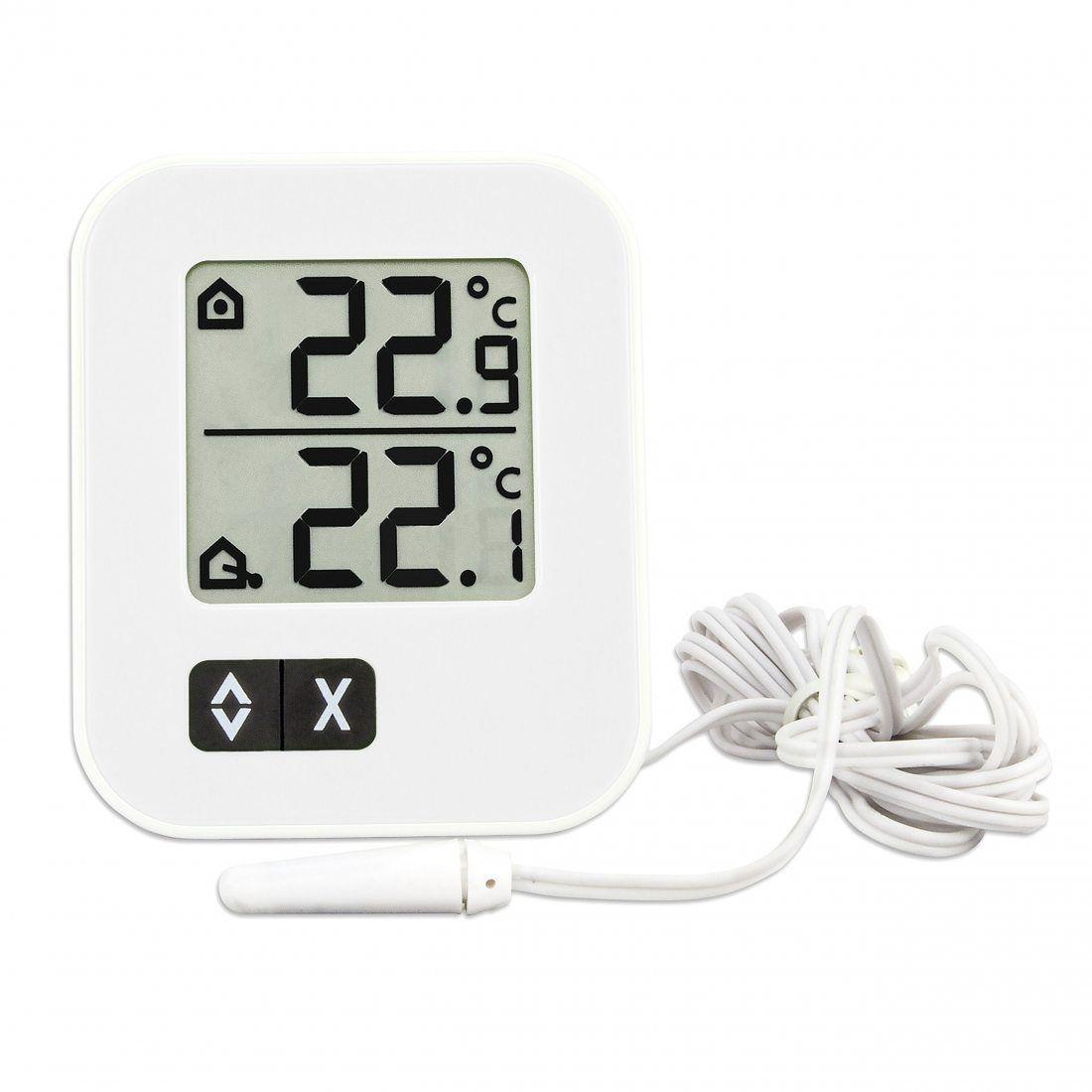 TFA Dostmann 91t30104302 Moxx Thermomètre Intérieur/Extérieur Digital