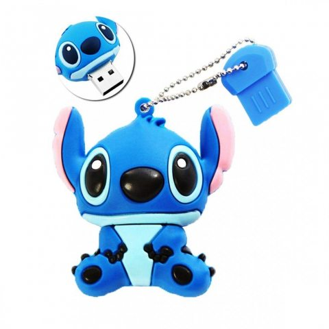 Sunworld Clef USB 16 Go Originale Clés USB 2.0 Flash Drive Mémoire Stick Stitch Bleu