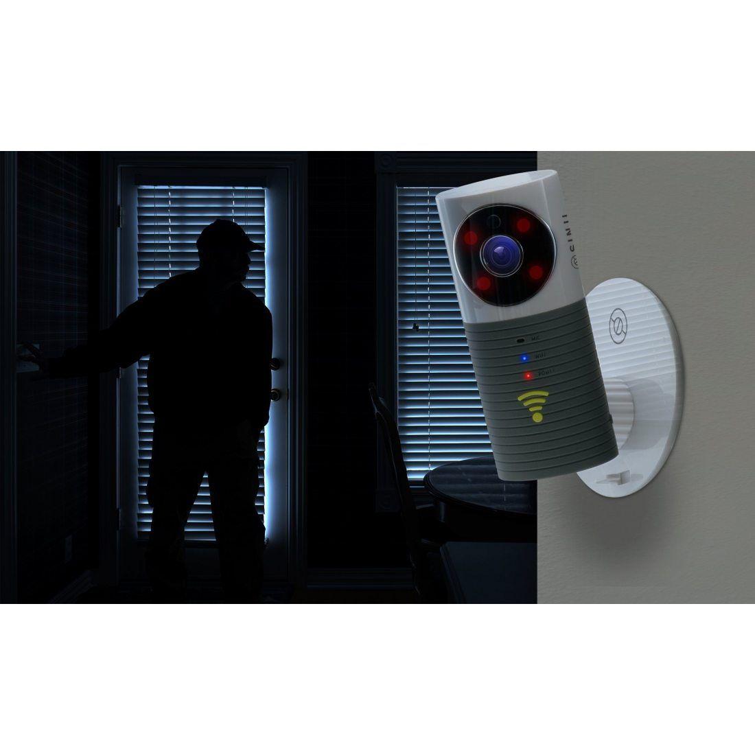 sinji indoor smart wifi camera webcam wifi sans fil. Black Bedroom Furniture Sets. Home Design Ideas