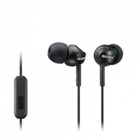 Sony MDR-EX110APB Ecouteurs Intra-auriculaires avec Microphone - Noir